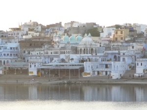 Pushkar in the evening