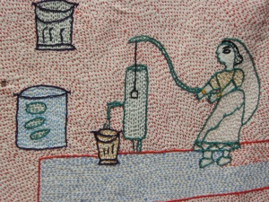 Sujani folk art